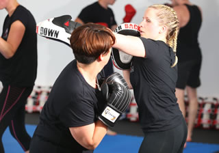 Ladies Kickboxing Southampton 2016small