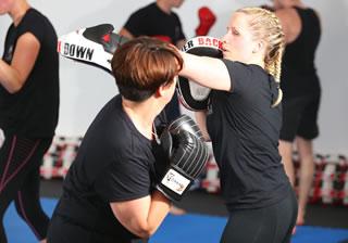 Ladies Kickboxing Southampton 2016small