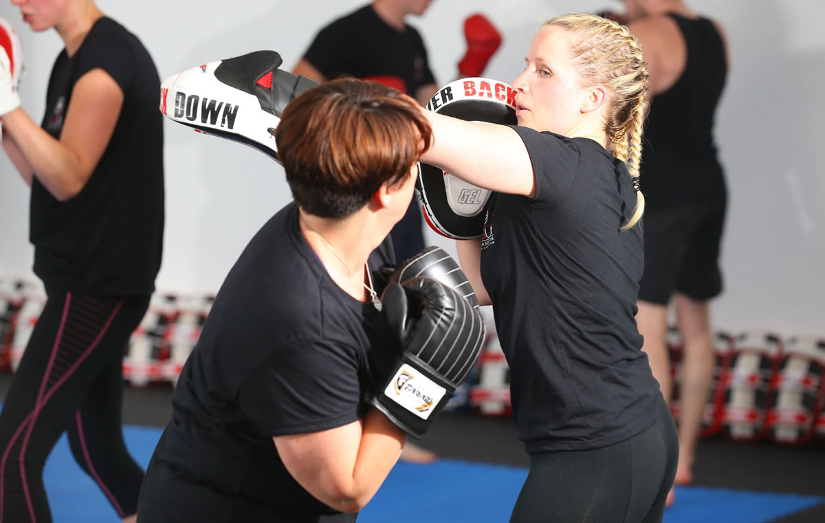 MKGUK Southampton Ladies Kickboxing 2016