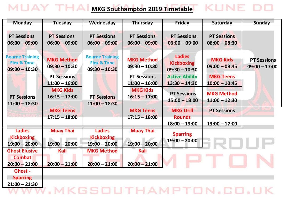timetable2019